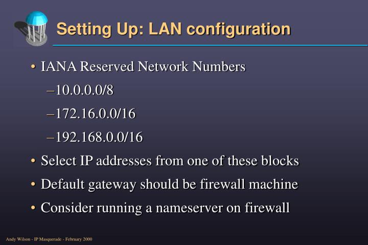 IANA Reserved Network Numbers