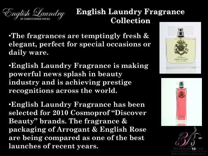 English Laundry Fragrance Collection