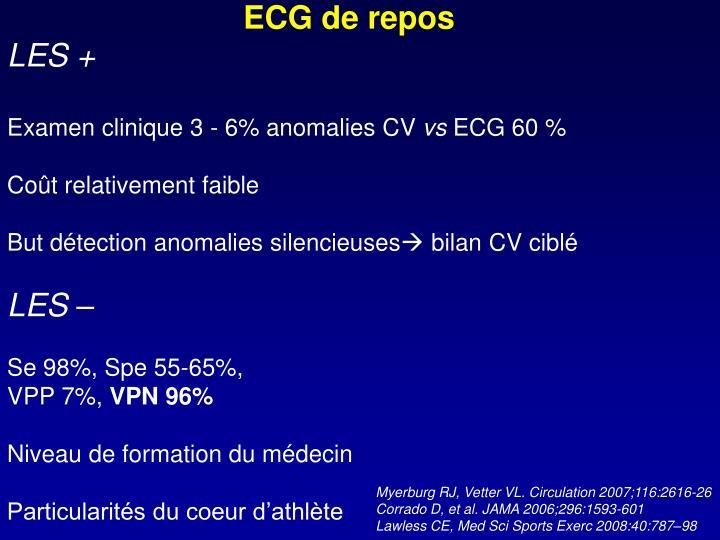 ECG de repos
