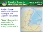 possible scope for meso american reef1