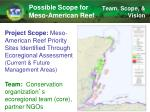 possible scope for meso american reef2
