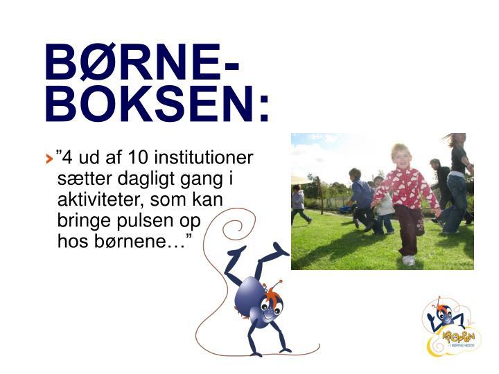 BØRNE-