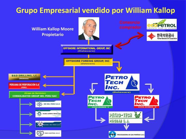 Grupo Empresarial vendido por William