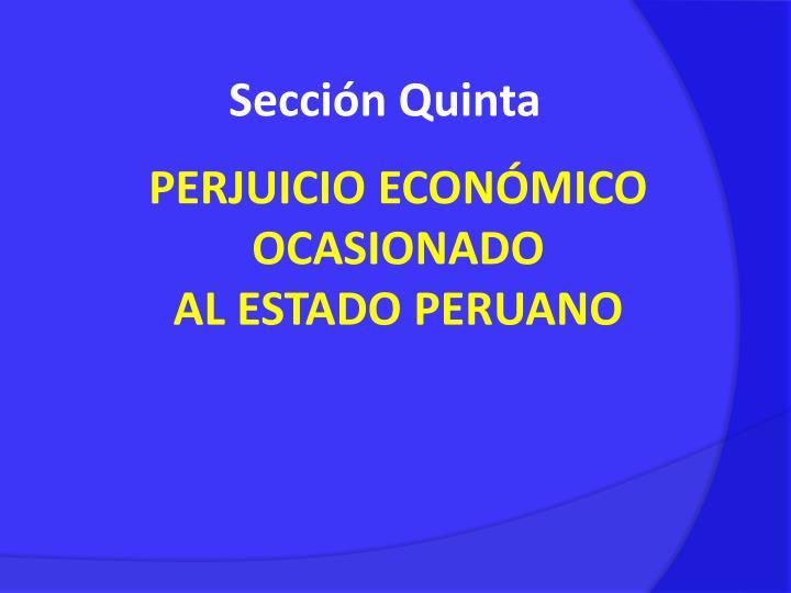 Sección Quinta