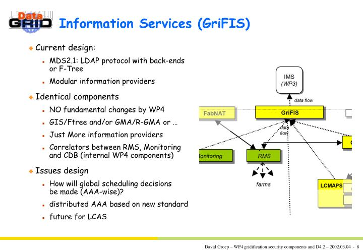 Information Services (GriFIS)