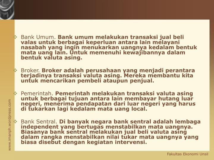 Bank Umum.