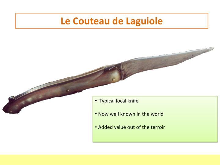 Le Couteau de Laguiole