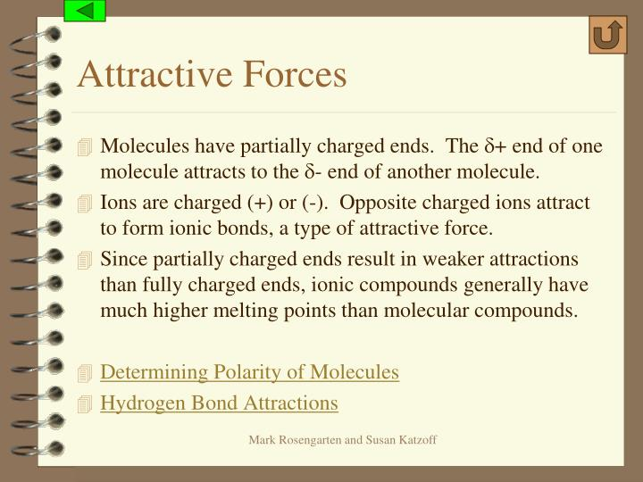 Attractive Forces