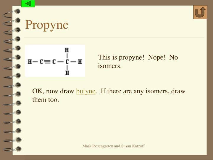 Propyne