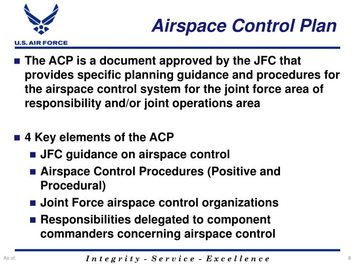 Airspace Control Plan