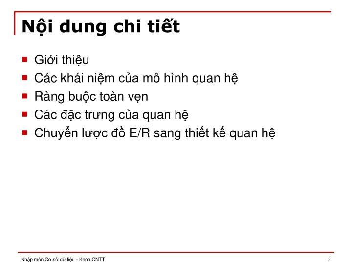 N i dung chi ti t
