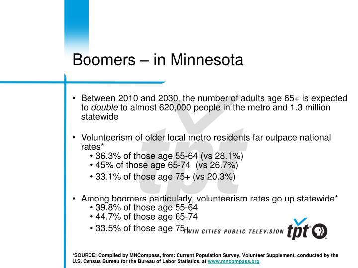Boomers – in Minnesota