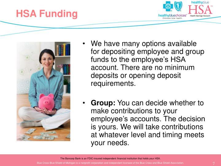HSA Funding