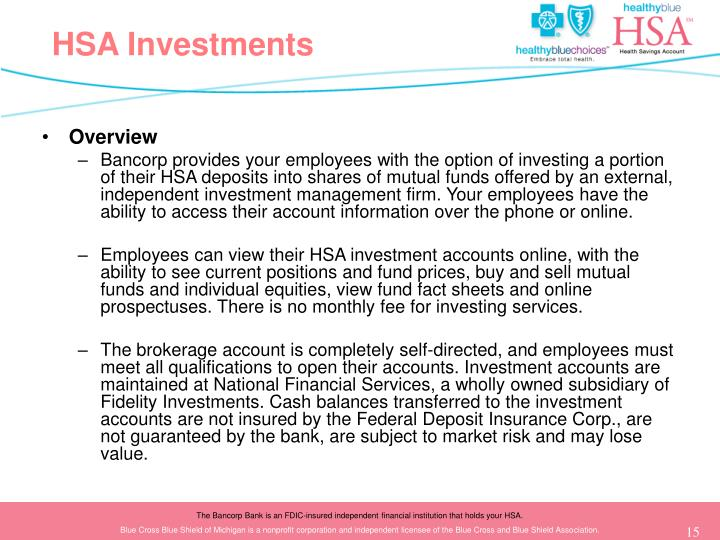 HSA Investments
