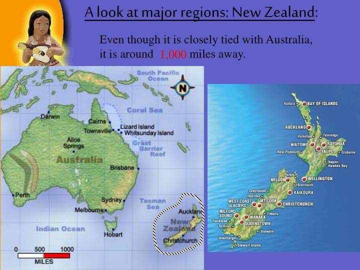 A look at major regions: New Zealand