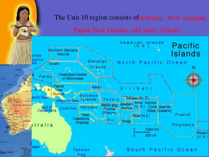 The Unit 10 region consists of