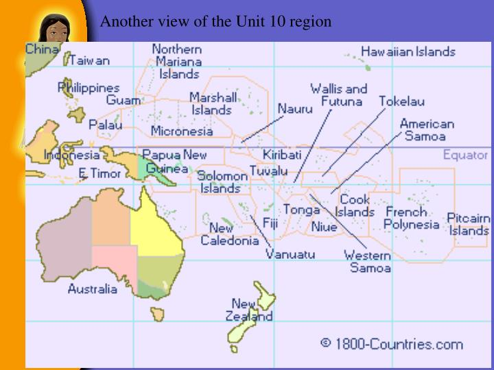 Another view of the Unit 10 region