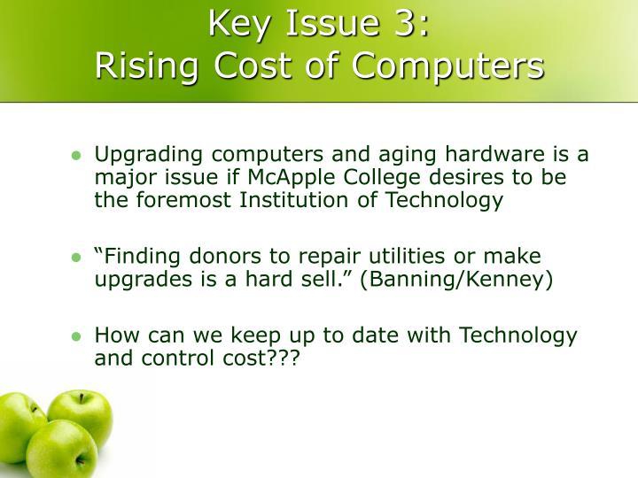 Key Issue 3: