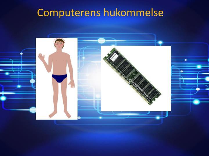 Computerens hukommelse
