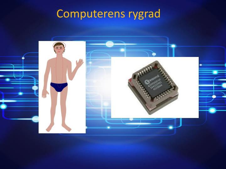 Computerens rygrad