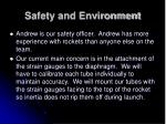 safety and environment1