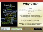 why cte