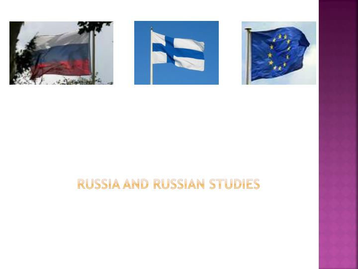 Russia and russian studies