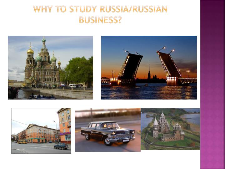 Why to study russia russian business