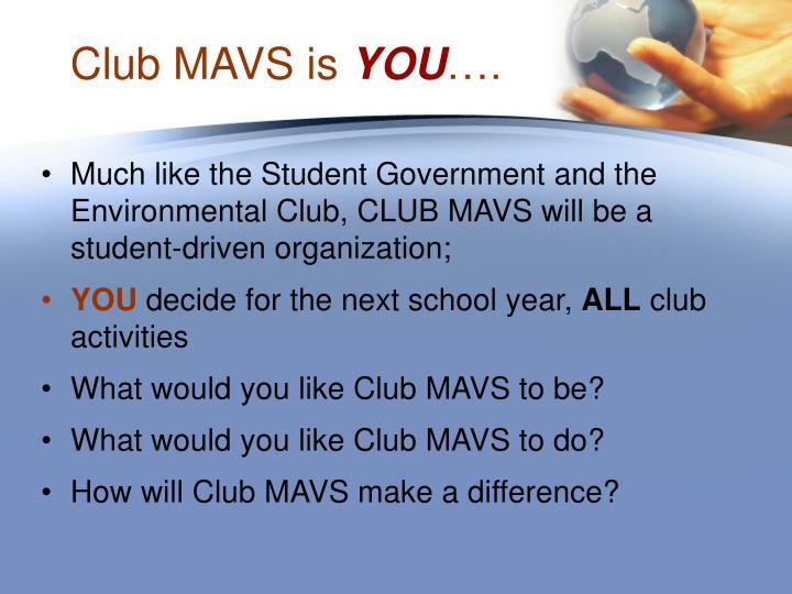 Club mavs is you