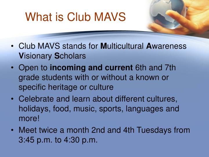 What is club mavs