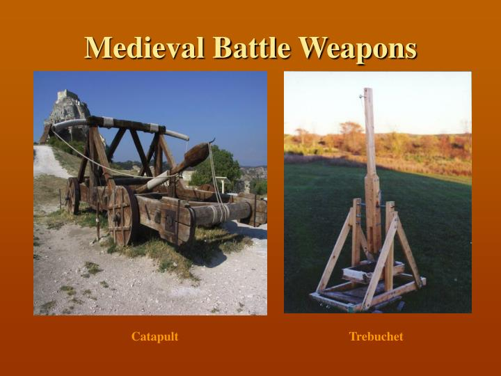 Medieval Battle Weapons