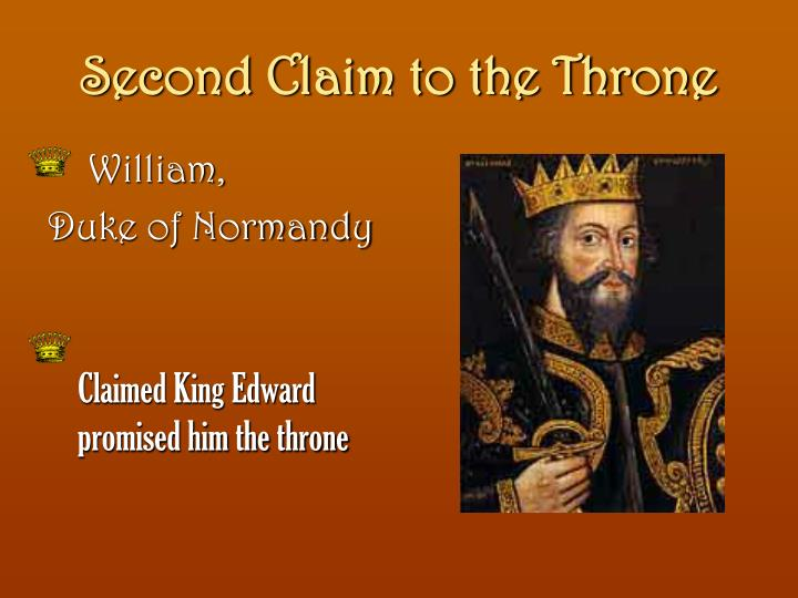 Second Claim to the Throne