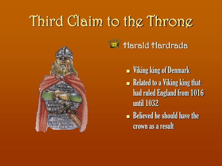 Third Claim to the Throne