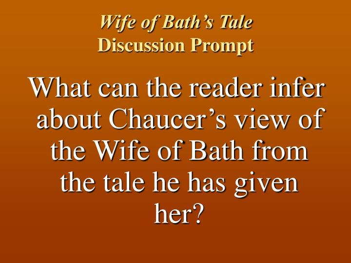 Wife of Bath's Tale