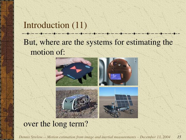Introduction (11)