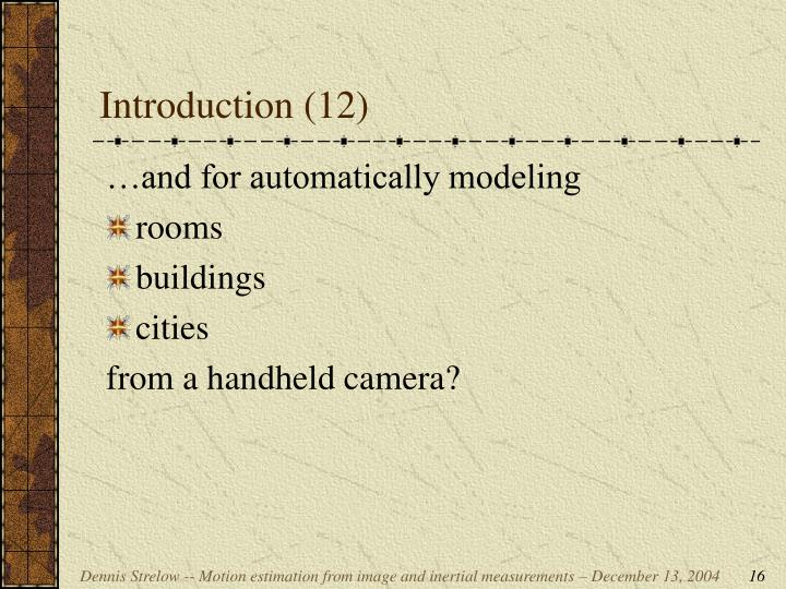 Introduction (12)
