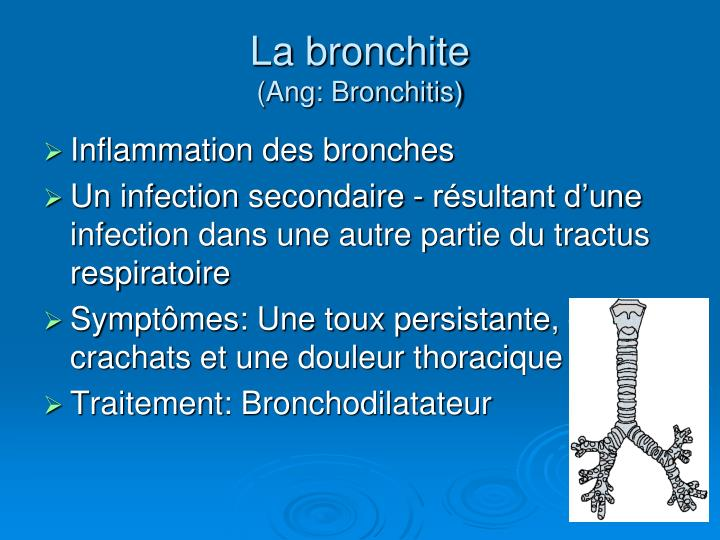 La bronchite