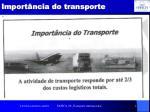 import ncia do transporte