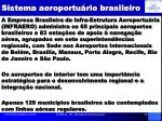 sistema aeroportu rio brasileiro