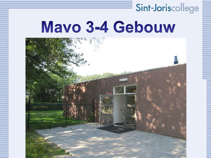 Mavo 3-4 Gebouw