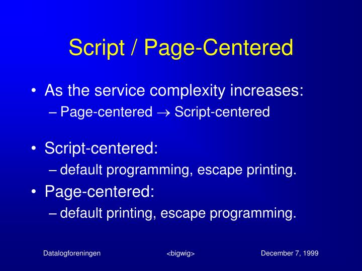 Script / Page-Centered