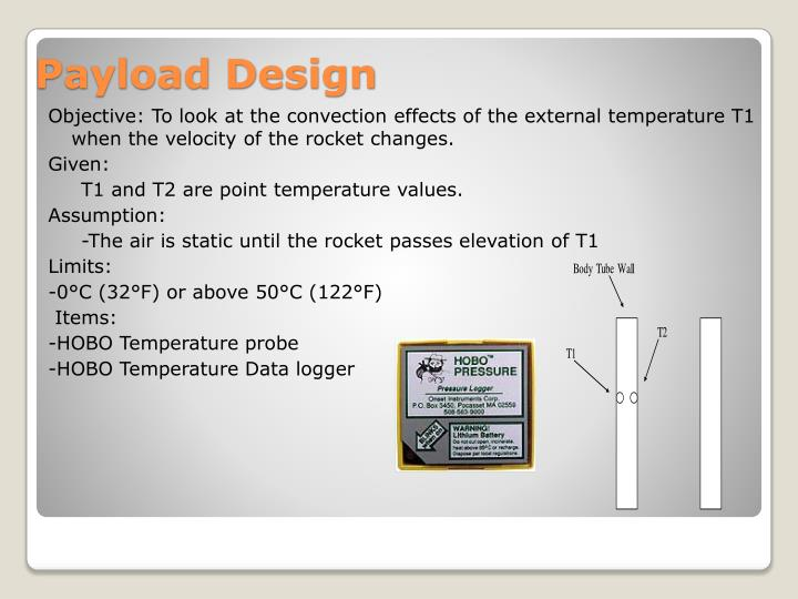 Objective: To look at the convection effects of the external temperature T1 when the velocity of the rocket changes.