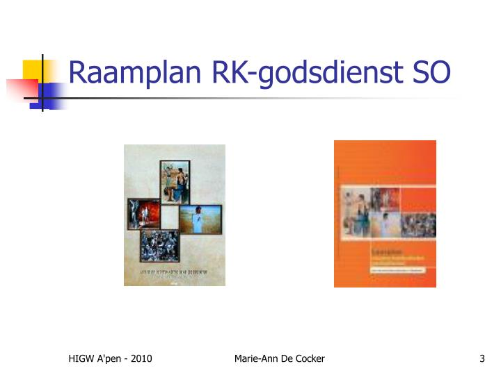 Raamplan rk godsdienst so