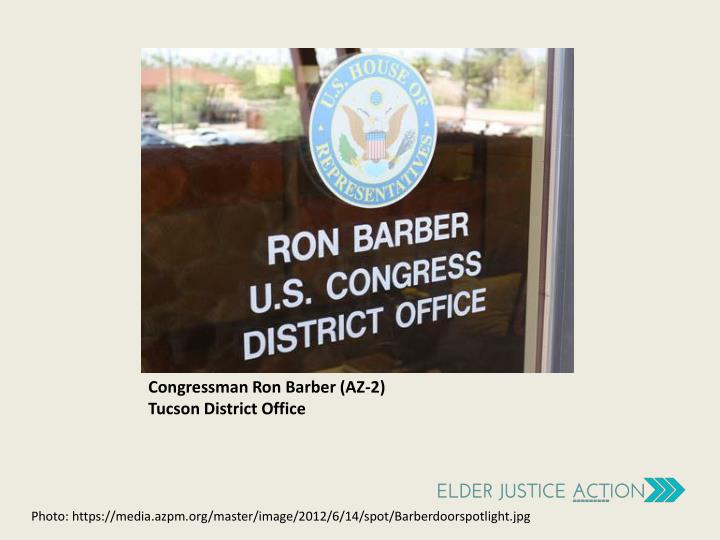 Congressman Ron Barber (AZ-2)