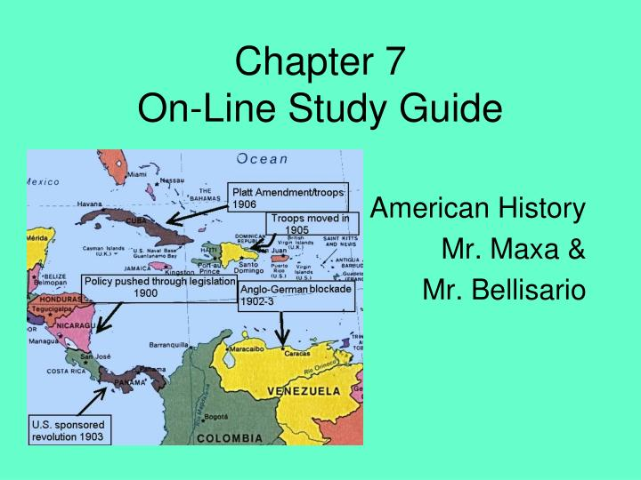 chapter 7 on line study guide