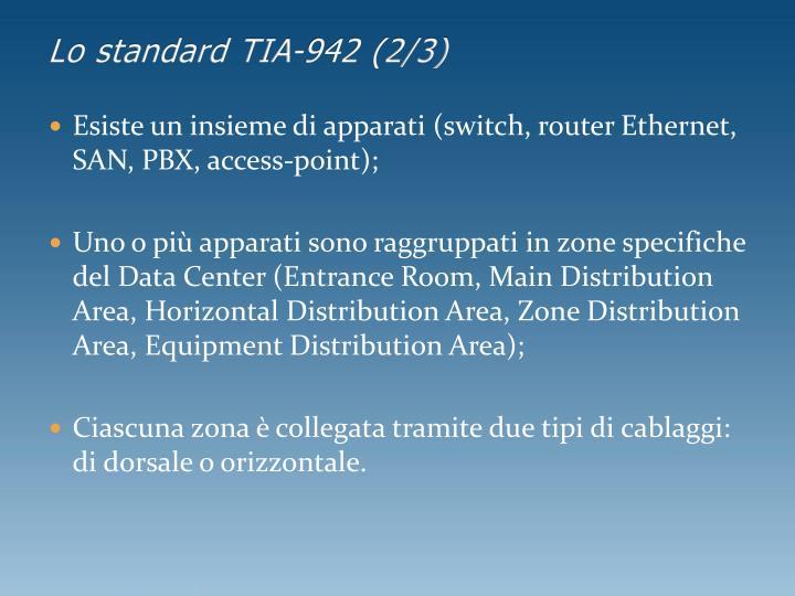 Lo standard TIA-942 (2/3)