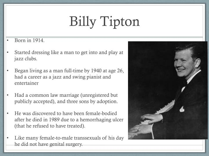 Billy Tipton
