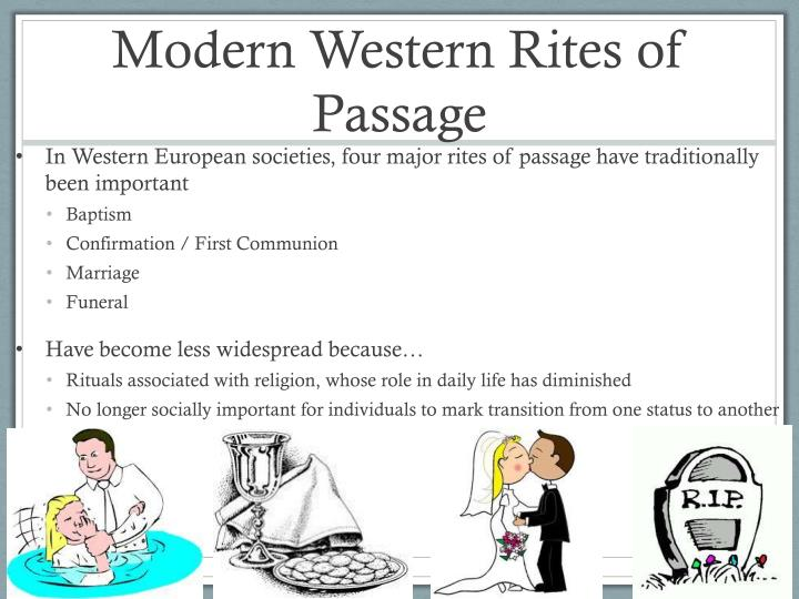 Modern Western Rites of Passage