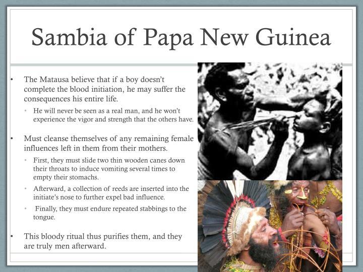 Sambia of Papa New Guinea
