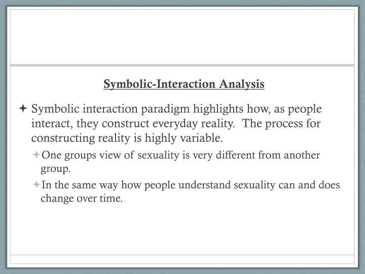 Symbolic-Interaction Analysis